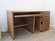 Solid Oak Desk in Travis AFB, California