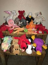 Rare retired beanie babies mint condition in Camp Pendleton, California