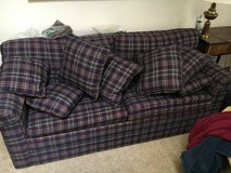 Sleeper Sofa and Matching Smaller Couch in Cherry Point, North Carolina