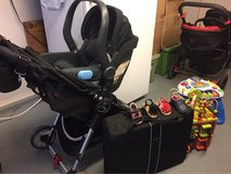 Uppa Baby car seat and baby jogger stroller in Alamogordo, New Mexico