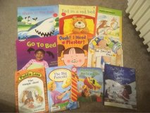 selection of early reader books in Lakenheath, UK
