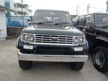 Land cruiser 70PRADO 1994yFebruary  Diesel turb in Okinawa, Japan