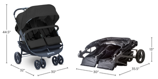 New Joovy Double Stroller in Aurora, Illinois