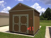 10x12 Lofted Utility Shed Storage Building DISCOUNTED!!! in Moody AFB, Georgia