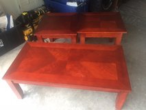 Coffee and end tables in DeRidder, Louisiana