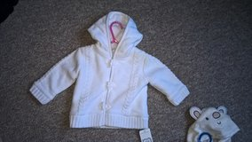 new mothercare furry lined cardigan 6-9 months £3 in Lakenheath, UK