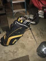 Complete set of Wilson Ultra Black clubs w/Bag in Fort Polk, Louisiana