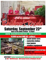 Children's Fall/Winter Resale in Morris, Illinois