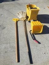 Mop buckets with Ringers and mop in The Woodlands, Texas