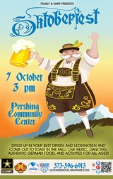 Oktoberfest in Fort Leonard Wood, Missouri