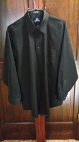 Black Stafford Shirt - 17 1/2 34/35 in Batavia, Illinois