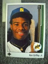 #1 KEN GRIFFEY JR.1989 UPPER DECK BASEBALL in Lake Elsinore, California