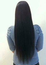 Hair Extensions application by me in Travis AFB, California