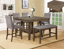 SALE! UPSCALE SOLID MADE PEDESTAL DINING SET W/ BUILT IN LAZY SUSAN! in Vista, California