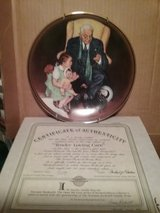 "Norman Rockwell Collector's Plate""Tender Loving Care"" in Glendale Heights, Illinois"