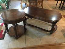 Coffee Table with side table set in Lawton, Oklahoma