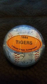 1984 Detroit Tigers World Series champions autographed baseball in Colorado Springs, Colorado
