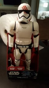 "Star Wars BIG FIGS FN-2187 FINN Stormtrooper with Bloody Helmet 18"" Jakks Pacific in Yorkville, Illinois"