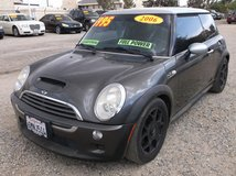 2006 MINI COOPER S 4CLY SUPERCHARGED AUTO , FULLY LOADED ,105K MILES ....$5995 in 29 Palms, California