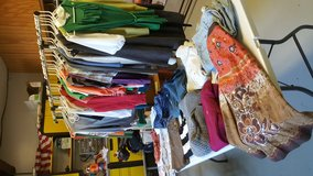 Need to get rid of women skirts,sweaters, shorts,shirts and pants in Hampton, Virginia