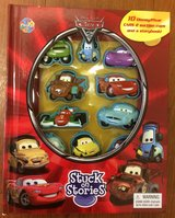 Disney Cars 2 Stuck On Stories Book in Clarksville, Tennessee