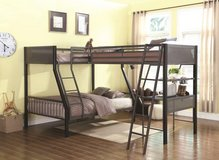 BUNK BED LOFT 3 BED 1 FULL 2 TWINS in Riverside, California