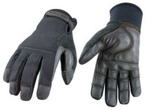 black youngstown tactical style, cut-resistant, men's gloves, size large in Okinawa, Japan
