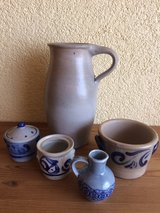 set of salt glaze items in Ramstein, Germany