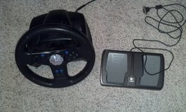 SP2 Racing Wheel Controller and Foot Pedal in Tinley Park, Illinois