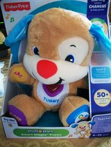 NIB Large Fisher Price Educational Laught & Learn Smart Stage Puppy. in Alamogordo, New Mexico