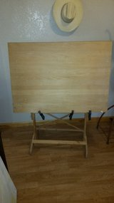 Large adjustable wooden easel in Alamogordo, New Mexico