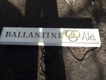Lighted beer sign... Ballantine Ale in Chicago, Illinois