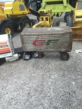Vintage consolidated freight ways trailer in Joliet, Illinois