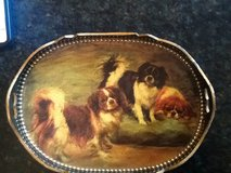 Dog tray. ...antique small wooden in Glendale Heights, Illinois