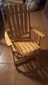 Childs Wooden folding rocking chair in Warner Robins, Georgia