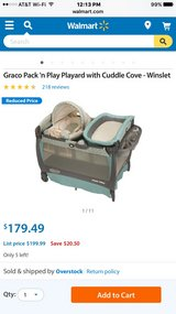 Graco Pack'n Play Playard Winslet Great Condition in Lake Elsinore, California