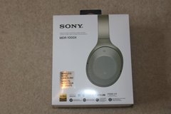 Brand New Beige Sony MDR 1000x Noise Cancelling Headphones in Cambridge, UK