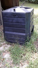 Compost bin in Leesville, Louisiana