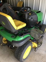 "John Deere L120 garden tractor and double bagger 20hp. motor 48"" deck hydro. trans. in Elgin, Illinois"