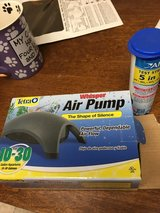 Air pump and test strips in Sandwich, Illinois