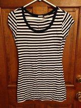 Juniors Striped Short Sleeve Top by No Boundaries - M in Naperville, Illinois