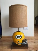 Green Bay Packers Riddell Helmet Lamp with Original Shade in Bartlett, Illinois