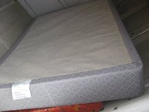 clean boxspring full size in Okinawa, Japan