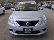 """2013 NISSAN VERSA SV 4DR 1.6L 4CLY AUTO """" 74K MILES """" 40MPG HWY ......$6795 in Yucca Valley, California"""