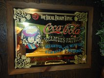 vintage coke mirror 21x26-1/2 in Oswego, Illinois