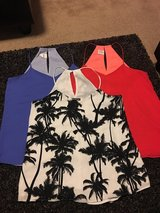 Dressy tank tops express in Lackland AFB, Texas