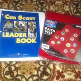Cub scout . Rules and regulations and Patch vest in Fort Belvoir, Virginia