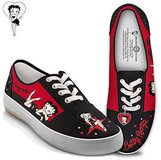 "Collector's Condition Betty Boop ""Movie Star"" Sneakers with a Heart Charm in CyFair, Texas"