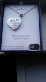 Silver Hallmark Mother's Necklace in Travis AFB, California