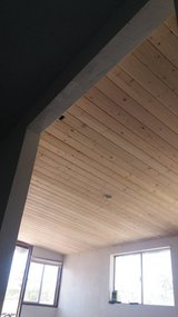 Wood ceilings installed in Yucca Valley, California